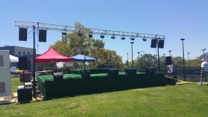 Live Sound for City of Oceanside, Concert in the Park 2015