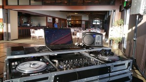 Small Reception Setup at the Crossings Carlsbad, DJ Extreme