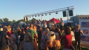 DJ Extreme Provides Outdoor Sound System for Concerts in the Park